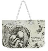 The Human Fetus In The Womb Weekender Tote Bag