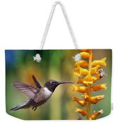 The Hummingbird And The Bee Weekender Tote Bag