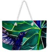The Hummingbird And The Trillium Weekender Tote Bag