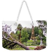 The Hurricane And The Confederate Monuments Weekender Tote Bag
