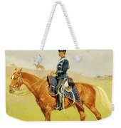 The Hussar Weekender Tote Bag