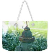 The Hydrant Bird Weekender Tote Bag