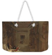 The Hypostyle Hall Of The Great Temple At Abu Simbel Egypt Weekender Tote Bag