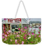 The Ice Cream Store On Bearskin Neck Weekender Tote Bag