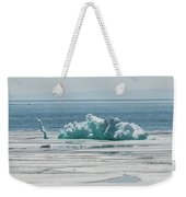 The Ice Elephant Of Silver Islet Weekender Tote Bag
