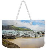 The Ice Wall Iceland Weekender Tote Bag