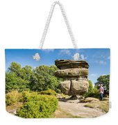 The Idol Rock In Perspective Weekender Tote Bag