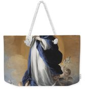 The Immaculate Conception  Weekender Tote Bag by Bartolome Esteban Murillo