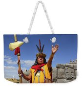 The Inca At Sacsayhuaman Weekender Tote Bag
