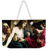 The Incredulity Of Saint Thomas Weekender Tote Bag