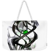The Inkwell Abstract Weekender Tote Bag