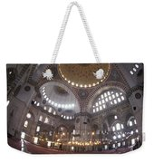 The Interior Of The Suleymaniye Mosque Weekender Tote Bag