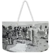 The Interpreter Waved At The Youth Weekender Tote Bag