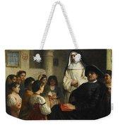 The Interrogation Weekender Tote Bag