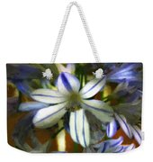 The Intransigent Beauty Of Blue Weekender Tote Bag