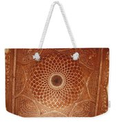 The Intricate Inlay And Carving Weekender Tote Bag