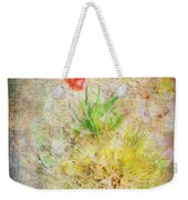 The Introverted Tulip Weekender Tote Bag