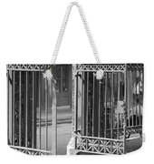 The Iron Gates Weekender Tote Bag