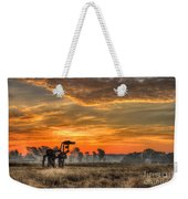 The Iron Horse 517 Sunrise Weekender Tote Bag