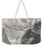The Iron Mine Weekender Tote Bag