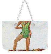 The Island Girl Weekender Tote Bag