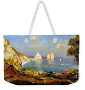 The Island Of Capri And The Faraglioni Weekender Tote Bag