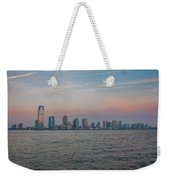 The Island Of Manhattan Weekender Tote Bag