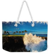 The Jack Nicklaus Signature Hualalai Golf Course Weekender Tote Bag