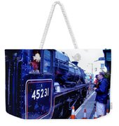 The Jacobite At Mallaig Station Platform 2 Weekender Tote Bag
