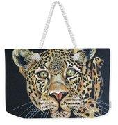 The Jaguar - Acrylic Painting Weekender Tote Bag
