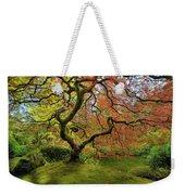 The Japanese Maple Tree In Spring Weekender Tote Bag
