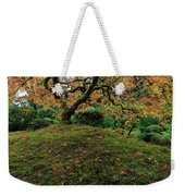 The Japanese Maple Tree In Autumn 2016 Weekender Tote Bag