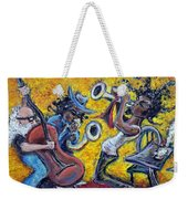 The Jazz Trio Weekender Tote Bag