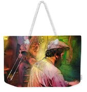 The Jazz Vipers In New Orleans 01 Weekender Tote Bag