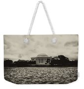 The Jefferson Memorial Weekender Tote Bag by Bill Cannon