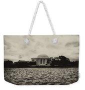 The Jefferson Memorial Weekender Tote Bag