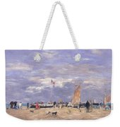 The Jetty At Deauville Weekender Tote Bag
