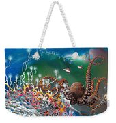The Jeweled Octopus Weekender Tote Bag