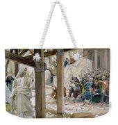 The Jews Took Up Stones To Cast At Him Weekender Tote Bag