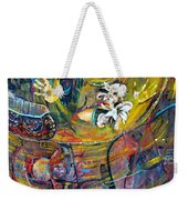 The Journey Weekender Tote Bag by Peggy  Blood