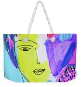 The Joy Of Contemplation And Color Weekender Tote Bag