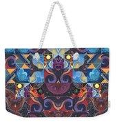 The Joy Of Design Mandala Series Puzzle 6 Arrangement 8 Weekender Tote Bag