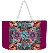 The Joy Of Design Mandala Series Puzzle 7 Arrangement 1 Weekender Tote Bag
