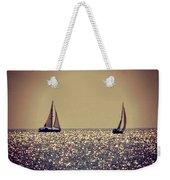 The Joy Of Sailing Weekender Tote Bag