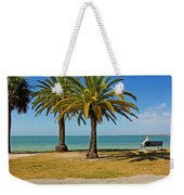 The Joy Of Sea And Palms Weekender Tote Bag