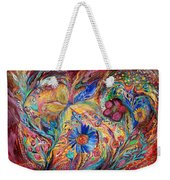 The Joyful Iris Weekender Tote Bag