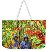 The Joys Of Autumn Camping Weekender Tote Bag
