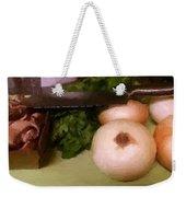 The Joys Of Cooking Weekender Tote Bag