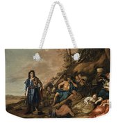 The Judgement Of Midas In The Contest Between Apollo And Pan Weekender Tote Bag