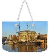 The Kaskelot In Bristol Dock Weekender Tote Bag